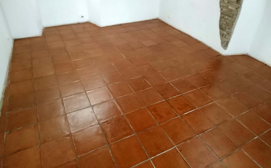 pavimento in cotto trattato